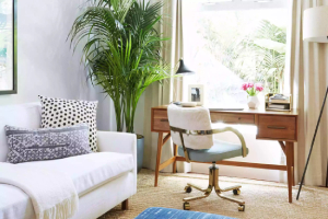 Small-home-office-with-couch-and-comfy-chair-Tips-for-Creating-your-Home-Office-part-2-of-2-Fort-Myers-Richardson-Custom-Homes