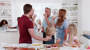 Kitchen party - Kitchen is the heart of your home - Fort Myers - Richardson Custom Homes