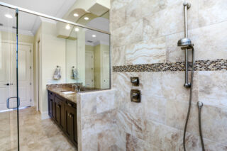 Shower door – Reasons to remodel your bathroom - Fort Myers - Richardson Custom Homes