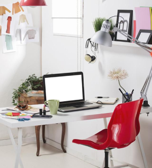 small workspace - tips for creating your home office - Richardson Custom Homes - Fort Myers